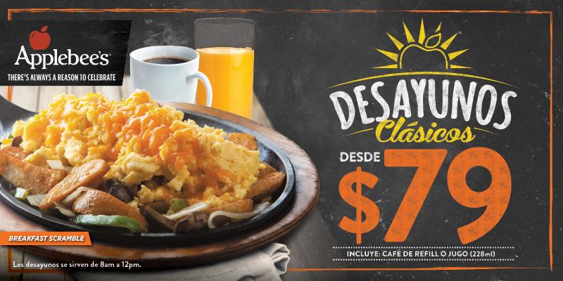 desayunos desde $79