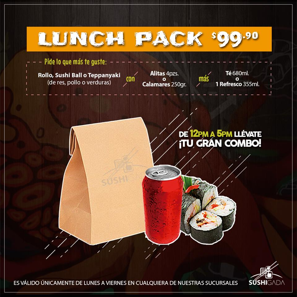 ¡¡LUNCH PACK!!