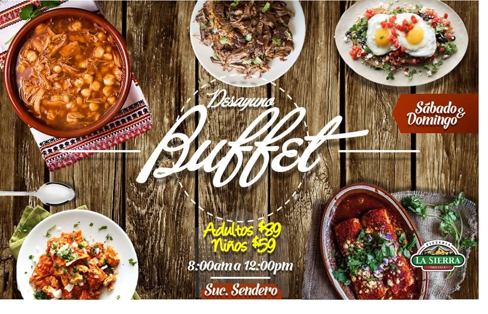 Desayuno Buffet Sabado y Domingo